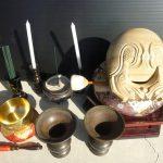 仏具の処分の仕方:仏壇の中にある仏具を供養処分する方法