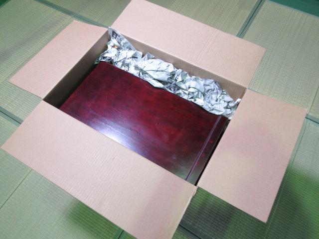 小型仏壇梱包例2
