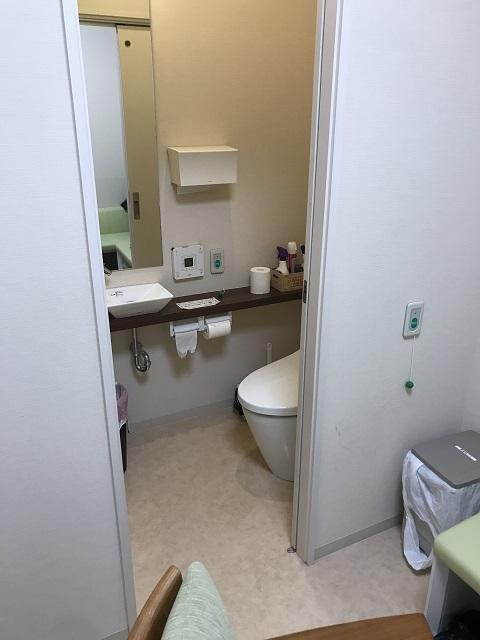 大腸カメラ検査トイレ